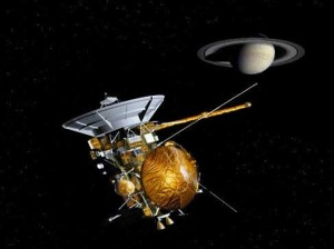 Аппарат Кассини обнаружил атмосферу у спутника Сатурна