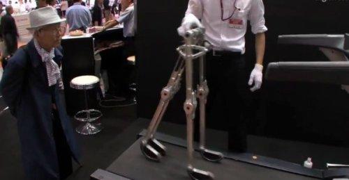 BlueBiped - шагающий робот