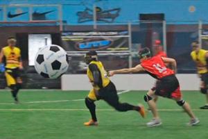 Новый вид спорта Ultimate Tazer Ball