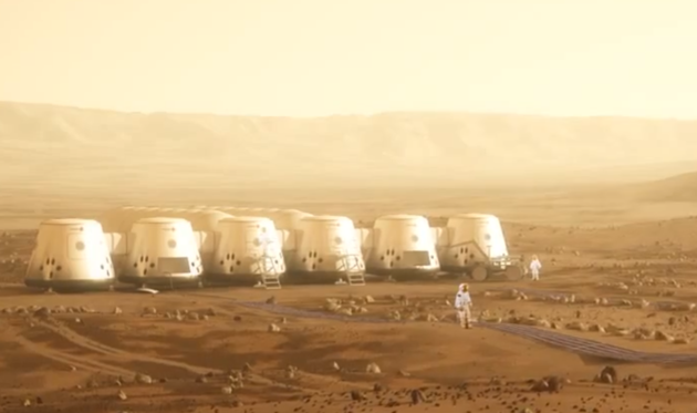The mission to Mars will be one-way, but the organisation already has 1,000 volunteers (Image: Mars One)
